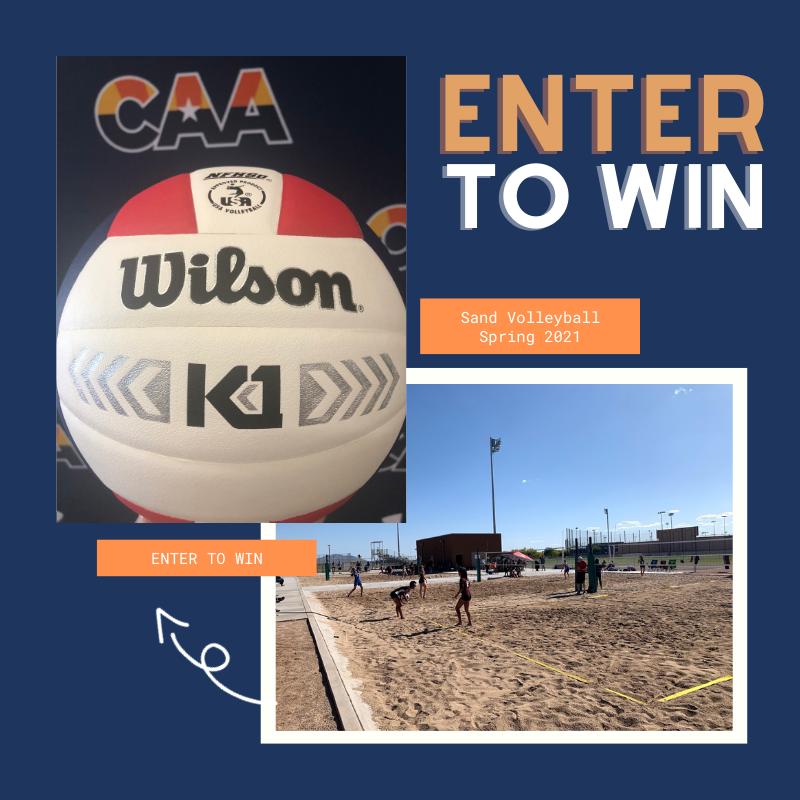 sand volleyball giveaway azcaa 2020