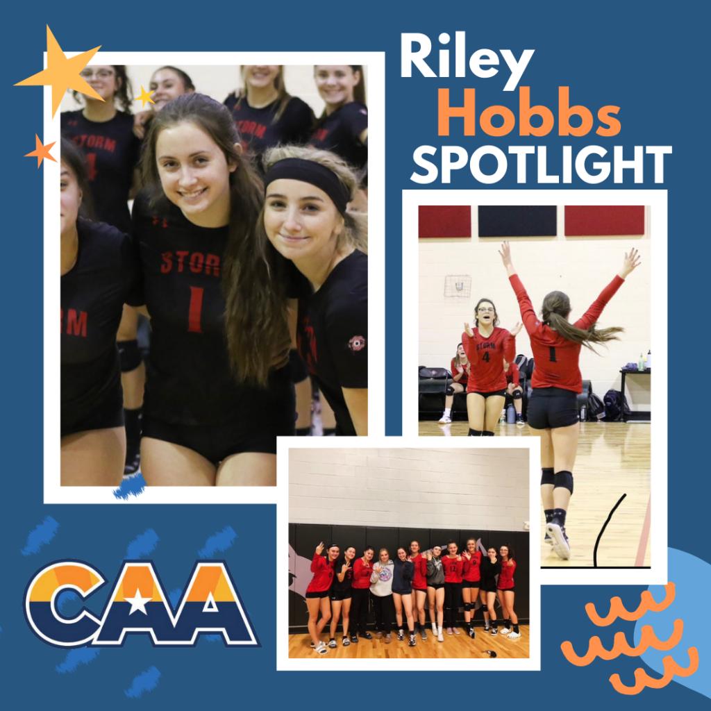 Riley Hobbs student athlete spotlight