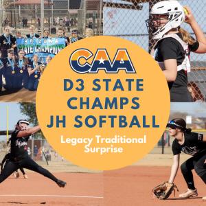 AZ CAA division 3 junior high state champs