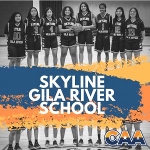 skyline gila river school varsity basketball women