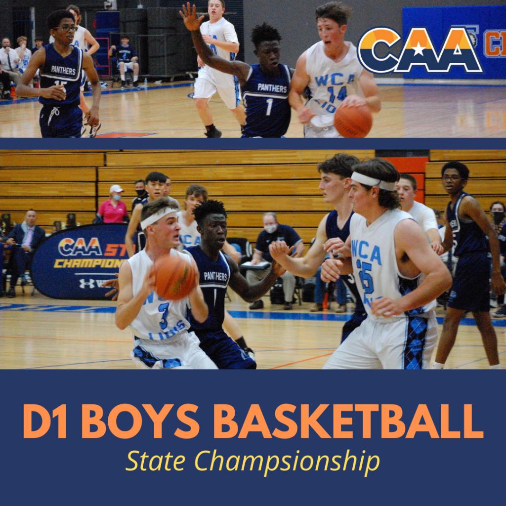 caa boys basketball state championship